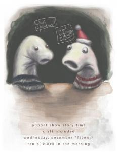 Sock Puppet Flyer